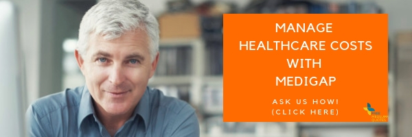 old and alone single manage health with medigap