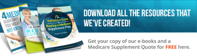 Medicare supplement quotes banner