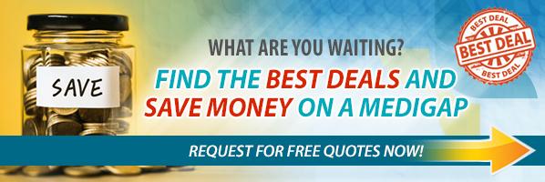 Best deals save money on Medigap banner image